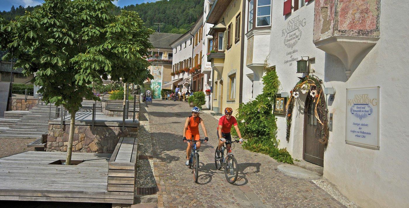 Molti itinerari per mountain bike nei dintorni di Maranza