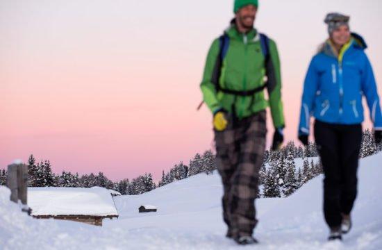 Escursioni invernali Dolomiti